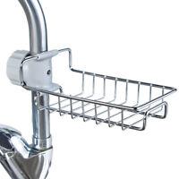 Stainless Steel Kitchen Storage Rack Holder Sink Drainer Tidy Bathroom Organizer