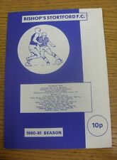 17/01/1981 Bishops Stortford v Dagenham [London Senior Cup] (Rusty Staples).  We