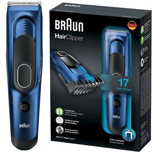 BRAUN HC5030 Profi Haarschneidemaschine Haarschneider Trimmer Akku 17 Längen NEU