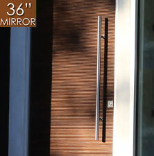 "Pull Push 36"" Handles,Entrance Entry Front Door,Ladder, Interior/Exterior,Mirror"