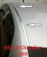 For 2005-2010 CHRYSLER 300 CHROME ROOF TOP TRIM MOLDING KIT