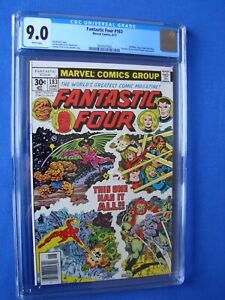Fantastic Four 183CGC 9.0 WP 2074167002 One Owner New Slab