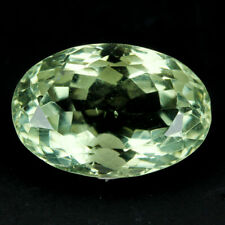 Natural Gemstone Natural 11.5 ct Oval Green Green Amethyst Africa/S1448