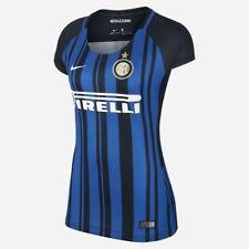 Inter Milan 17-18 ladies home shirt by Nike - adult XL (UK 14-16)