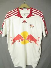 """Adidas Red Bull Top 42"""" Chest White Red New York MLS Major League Soccer VGC"""