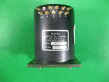 Narda Switch, RF Coaxial DC-18GHz, 28VDC -- SEM143DT -- Used