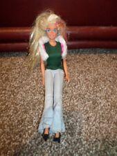 1966 Vintage Mattel Barbie Doll Long Blonde Hair with Gold Sparkling