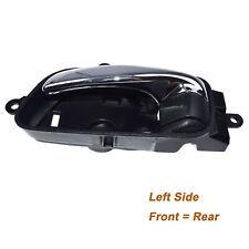 New Black & Chrome Left Interior Door Handle For Nissan Altima Murano 806713TA0D