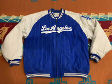 RARE🔥 Mitchell & Ness 1904 MLB Los Angeles Dodgers Pinstripe Vintage Jacket 2XL