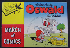 MARCH OF COMICS #81 Oswald the Rabbit. giveaway promo VF- 1952 K.K. Publications