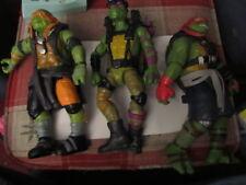 TMNT Teenage Mutant Ninja Turtles 3 10 inch figures 2014