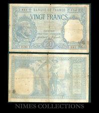 BILLET DE 20 FRANCS BAYARD  DATE 19-10-1916 ETAT:  TB -  N°P.742