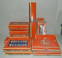 Lionel Trains Empty Boxes lot of 13 1980's 1990's