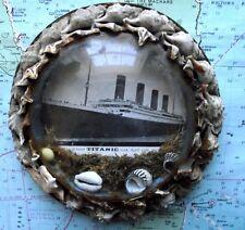 C1912 RMS Titanic POST affondamento cupola di vetro SHELL PLACCA