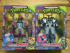 TMNT Classic Collection MECH Wrekkers Battlesuit Ninja Turtle Set Leo Raph 2013