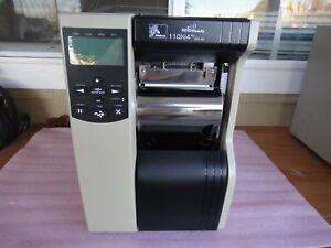 Zebra 110Xi4 ( 112-851-00200 ) 203dpi Network Label Thermal Printer W/ Rewind