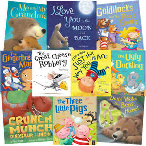 Loving Stories: 10 Kids Picture Books Bundle (Book Collection), Books, Brand New