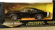 NOS ERTL 1969 Dodge Charger HEMI R/T 69 American Muscle BLACK Super Car