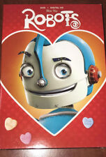 NEW! VALENTINE'S SLIP COVER EDITION BLUE SKY STUDIOS -  Robots DVD + DIGITAL HD