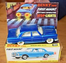 Dinky Toys; 160; Mercedes Benz 250 SE; Operating Brake lights; Original Box