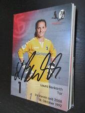 68440 Laura Benkarth SC Freiburg Damen original signierte Autogrammkarte