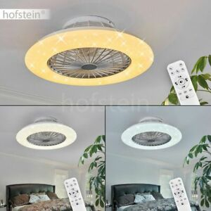 Decken Ventilator LED Luft Kühler Timer Wohn Schlaf Raum Leuchten Fernbedienung
