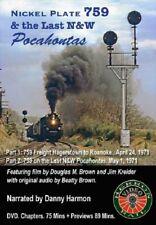 Nickel Plate 759 & The Last N&W Pocahontas Dvd Herron Rail Video Norfolk Western