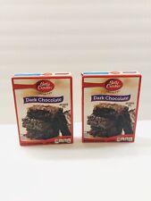 (2) Lot Of Betty Crocker Favorites Dark  Chocolate Brownie Mix 19.9 OZ