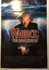 WARLOCK: THE ARMAGEDDON MOVIE POSTER(1993)