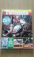 TUTTOMOTO # 10 - OTTOBRE 1983 - GUZZI T5 - MORINI 125 - DUCATI 600 TL
