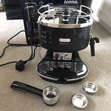 Delonghi Icona Vintage Ecov 311.BK Espresso Coffee Machine Black
