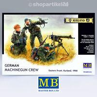 MASTER BOX 3526 - German Machinegun Crew, Eastern Kurland - 1:35 Bausatz MB3526