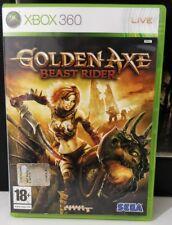 GOLDEN AXE BEAST RIDER XBOX 360 ITALIANO COME NUOVO ITA COMPLETO, SEGA