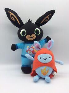 Bing Bunny Soft Toys Bedtime Bing And Original Hoppity Voosh Plushies