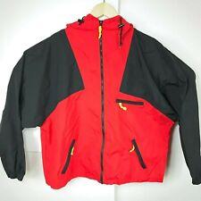 Vintage Malboro Adventure Team Red Black Windbreaker Jacket Mens Large