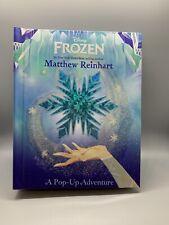 2016 Disney Frozen A Pop Up Adventure Book Matthew Reinhart Hardcover Anna Elsa