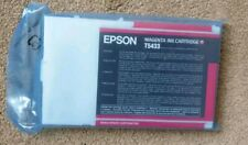Epson T5433 Magenta Genuine Ink Cartridge for Stylus Pro 4000 4400 7600 9600