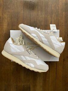 JJJJound x Reebok Classic Nylon *Size 11* White/Grey Brand New -FREE Shipping-