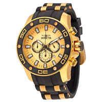 Invicta Pro Diver Chronograph Gold Dial Men's Watch 26088
