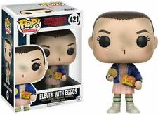 Funko POP! Stranger Things:Eleven con Eggo Figura Vinilo
