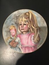 Vintage 1976 Haviland Limoges France Plate Pinky & Baby Signed Marian Carlseen