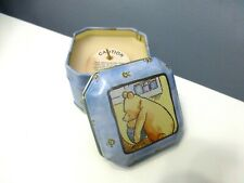 Classic Winnie The Pooh Scented Candle Honey Pot Covered Metal Tin Unlit