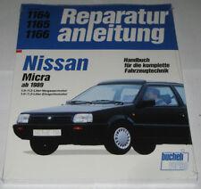 Reparaturanleitung Nissan Micra K10, Baujahre 1989 - 1993
