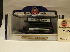 OXFORD DIECAST - MODEL B48 - AEC Opentop and Open Staircase Bus - Sunday Express