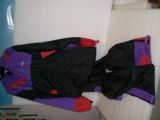 Regenkombi  Held  Größe L 2 Teilig  schwarz Purple