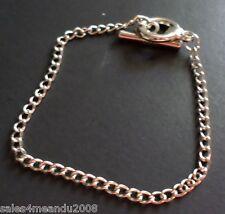 "21 Silvertone Jewelry Toggle 8"" Starter Bracelets Jewelry Making Add Charms"