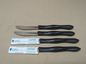 CUTCO 1759 JH Knife (Set of 4) Classic Serrated Steak Knives Very Nice
