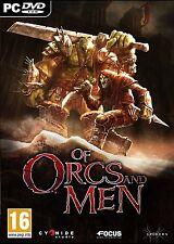 De Orcos y Hombres (Pc Dvd) Nuevo Sellado