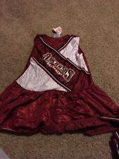 New Arkansas Razorback College Youth Cheerleader Dress Size 12