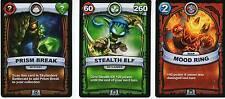 Skylanders Battlecast Card - Prism Break - Mood Ring - Stealth Elf